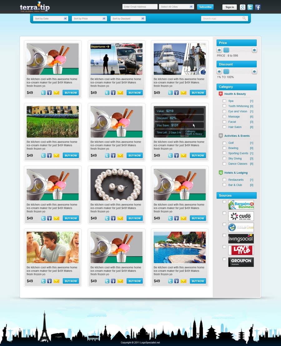 Contest Entry #                                        48                                      for                                         Website Design for TerraTip
