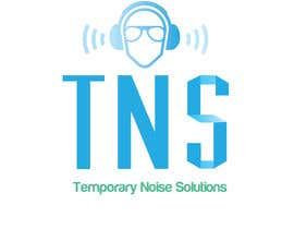 #57 para Design a Logo for Temporary Noise Solutions por isabelles