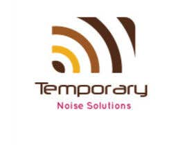 #2 untuk Design a Logo for Temporary Noise Solutions oleh ryanmcl6