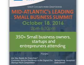 jassna tarafından Design a Flyer for the Mid-Atlantic Small Business Summit 2016 için no 6