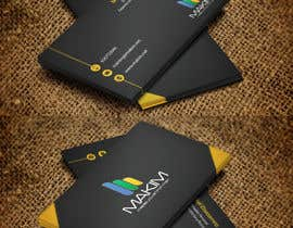 nº 50 pour Design Business Cards for MAKIM par mdreyad