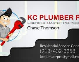 #10 untuk Design some Business Cards for KC Plumber Pro oleh DLS1