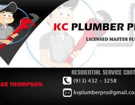 #11 para Design some Business Cards for KC Plumber Pro por cdinesh008