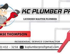 #22 para Design some Business Cards for KC Plumber Pro por cdinesh008