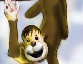 #3 for Illustrate a monkey! by BibinAJ