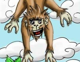 #10 for Illustrate a monkey! af adityasrinate