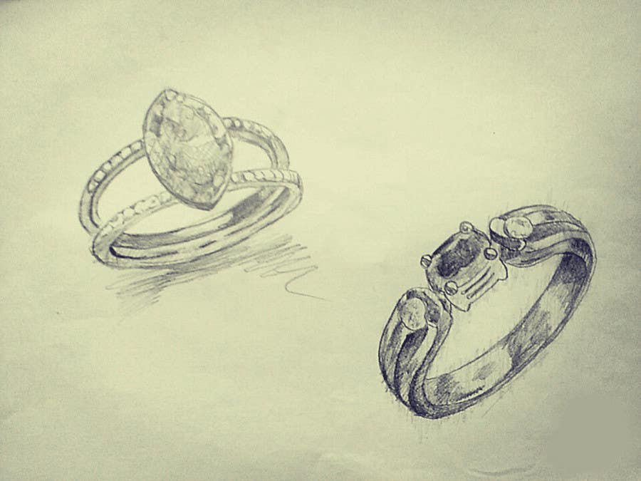 Entry 8 by Eugenya for Fine Jewelry Design Contest Freelancer