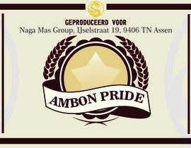 """Nro 28 kilpailuun Create a Label for a brand of beer called """"Ambon Heritage"""" käyttäjältä wahyuguntara5"""