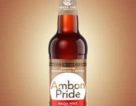 """Nro 23 kilpailuun Create a Label for a brand of beer called """"Ambon Heritage"""" käyttäjältä iammase"""