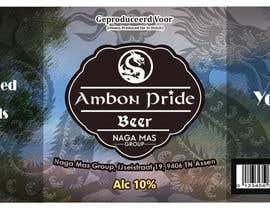 """Nro 30 kilpailuun Create a Label for a brand of beer called """"Ambon Heritage"""" käyttäjältä Mahabub26070"""