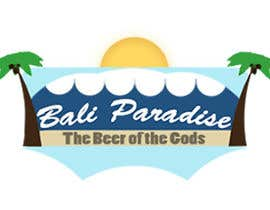 "shundovski tarafından Create a label for a beer brand called ""Bali Paradise"" with the sub-title ""The Beer of the Gods"" için no 3"