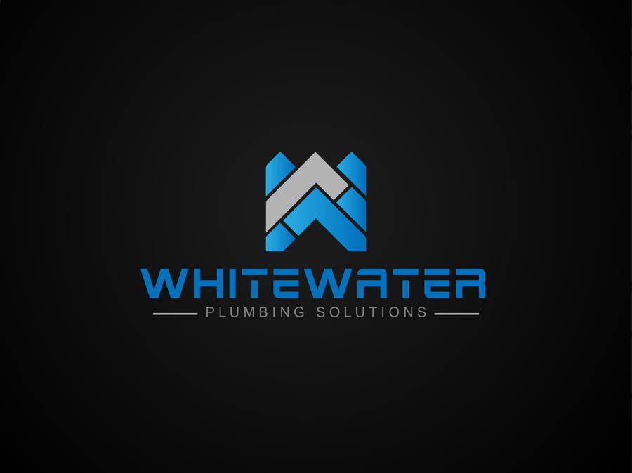 #16 for Design a Logo for White Water Plumbing by nasirmomin95