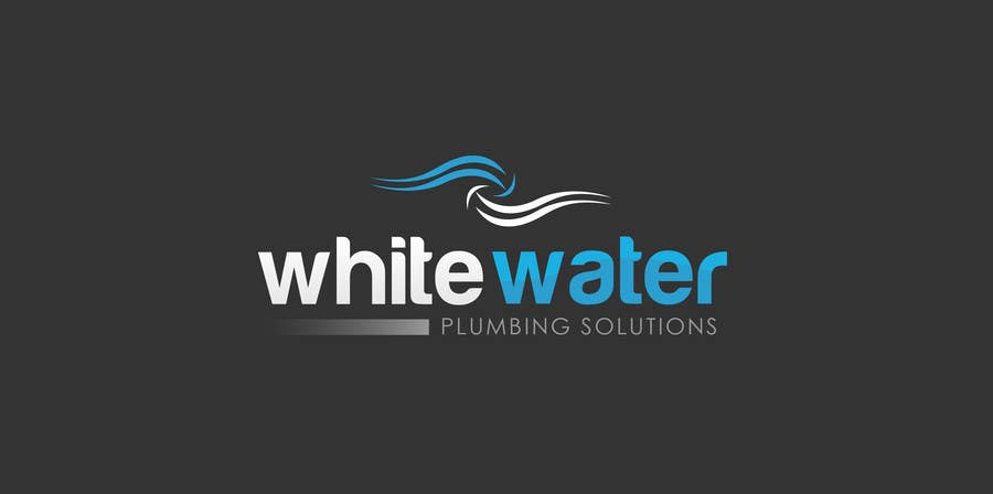 #14 for Design a Logo for White Water Plumbing by emzbassist07