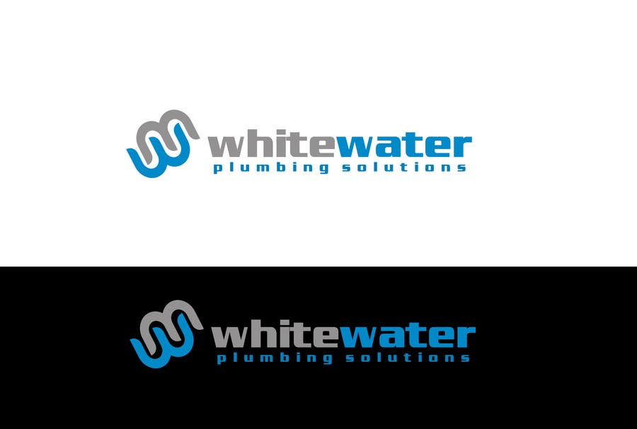 #66 for Design a Logo for White Water Plumbing by Sehban96