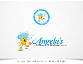 putih2013 tarafından Design a logo for Angela's office maintenance için no 16