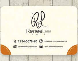 #24 untuk Hairdressing business cards and promo material oleh adhitya7393
