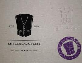 Nro 28 kilpailuun Logo for Little Black Vests käyttäjältä Lexik