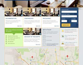 #32 for Create a Wordpress Template for Hotel af theinspiredart