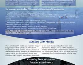 Nro 3 kilpailuun Design a Flyer for the company Precisionary Instruments for their new product!! käyttäjältä iammase