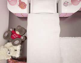 #35 cho Create a small, easy and very simple girls bedroom scene bởi olsiad