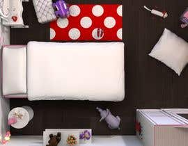 #21 cho Create a small, easy and very simple girls bedroom scene bởi redlampdesign