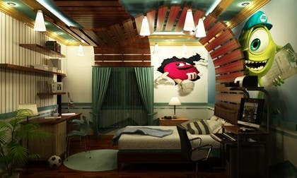 #26 for Design Realistic Room by Ayman100