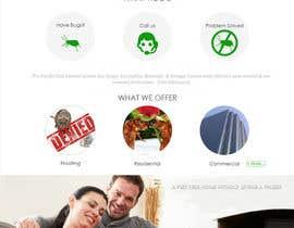 Nro 18 kilpailuun Homepage Design Mockup käyttäjältä infocuspro
