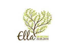 nº 32 pour Design a Logo for my daughter's bat mitzvah par elisaf