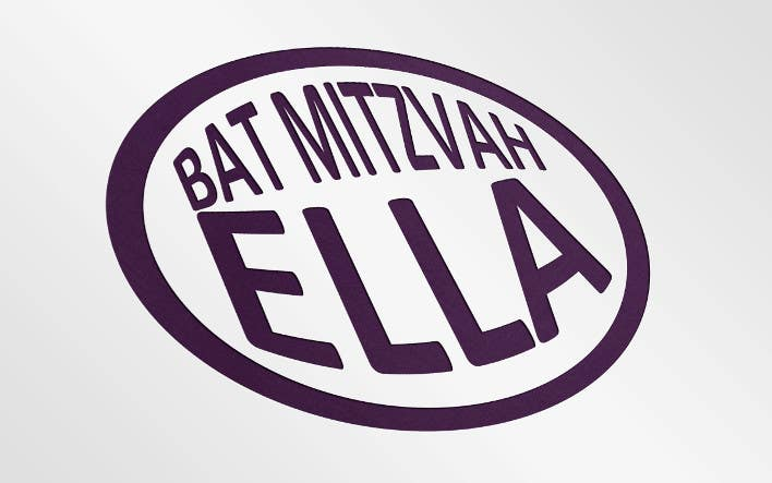 #4 for Design a Logo for my daughter's bat mitzvah by oyyenici