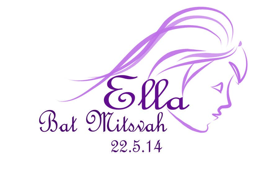 #26 for Design a Logo for my daughter's bat mitzvah by malathy27