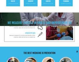 zeeshanayaz1 tarafından Design a Website Mockup For an Acupuncture Clinic için no 4