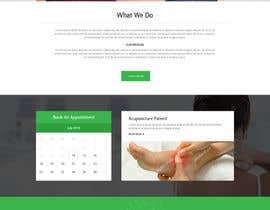 bestwebthemes tarafından Design a Website Mockup For an Acupuncture Clinic için no 31
