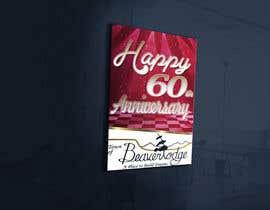 Nro 18 kilpailuun 60th anniversary celebration käyttäjältä cristinaa14