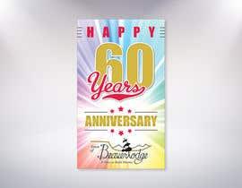 Nro 30 kilpailuun 60th anniversary celebration käyttäjältä MrDesi9n