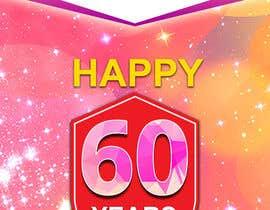 Nro 29 kilpailuun 60th anniversary celebration käyttäjältä rkbhiuyan