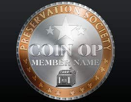 nº 25 pour Design a Logo for Coin Op Preservation Society par bsfromania