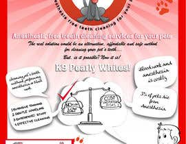 #2 untuk Flyer Design for K9 Pearly Whites [K9PW.com] oleh Decorsmith