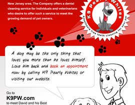 #20 pentru Flyer Design for K9 Pearly Whites [K9PW.com] de către zdenusik