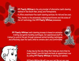 #3 untuk Flyer Design for K9 Pearly Whites [K9PW.com] oleh corpuzmanolito