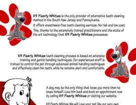 #4 untuk Flyer Design for K9 Pearly Whites [K9PW.com] oleh corpuzmanolito