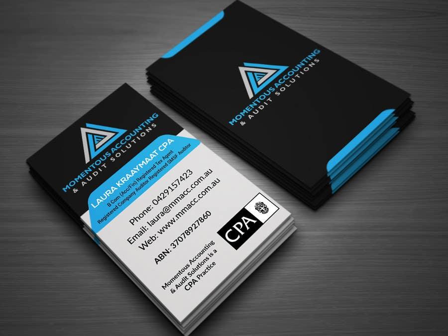 Kilpailutyö #6 kilpailussa Business card & letterhead design - existing logo