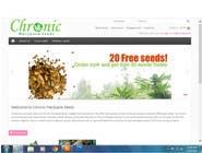 Graphic Design Kilpailutyö #29 kilpailuun Design a Logo for Chronic Marijuana Seeds