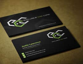 #41 untuk Design some Business Cards for Exclusive Car Care oleh mamun313