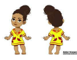 #27 untuk Design a Beautiful Black Girl Doll oleh kruegerambern