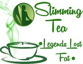 #44 for Design a name and logo for a weight loss tea product by Daniel4ever