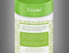 Nro 67 kilpailuun Design print packaging for herbal tea brand käyttäjältä madlabcreative