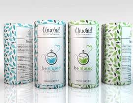 Nro 59 kilpailuun Design print packaging for herbal tea brand käyttäjältä Med7008