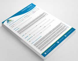#6 for Design a graphical report template by ElegantConcept77