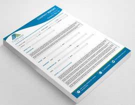#6 for Design a graphical report template af ElegantConcept77
