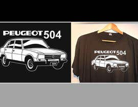 #13 for Design a Peugeot 504 T-Shirt 2 by andyiommi